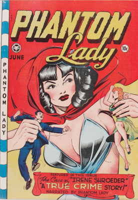 Phantom Lady #18, Matt Baker