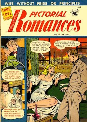 Pictorial Romances #15. Click for values