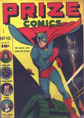 Prize Comics #10. Click for current values.