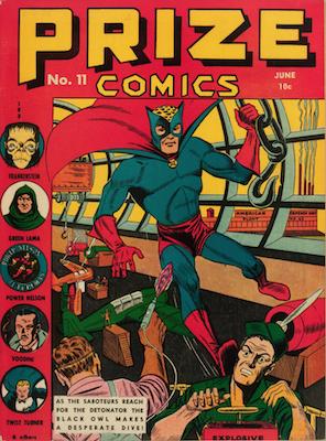 Prize Comics #11. Click for current values.