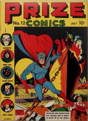 Prize Comics #12. Click for current values.