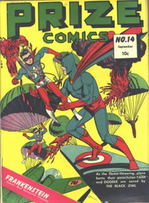 Prize Comics #14. Click for current values.