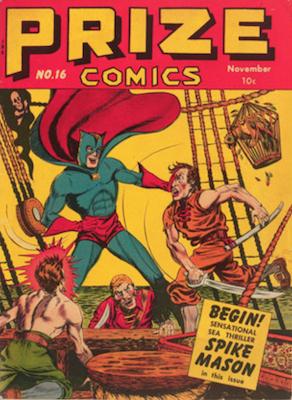 Prize Comics #16. Click for current values.