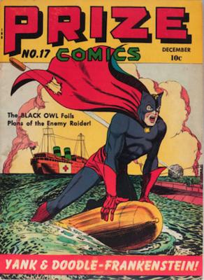 Prize Comics #17. Click for current values.