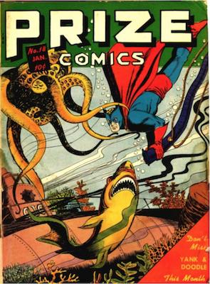 Prize Comics #18. Click for current values.