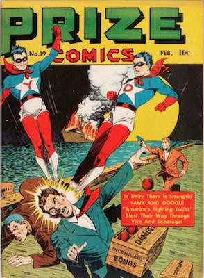 Prize Comics #19. Click for current values.