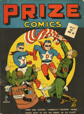 Prize Comics #21. Click for current values.