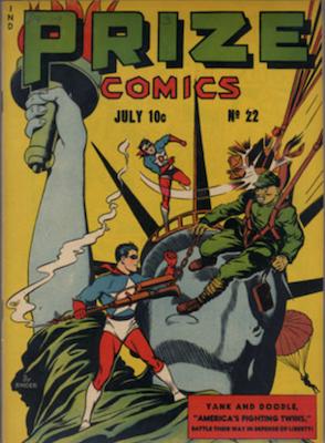 Prize Comics #22. Click for current values.