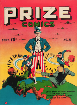 Prize Comics #23. Click for current values.