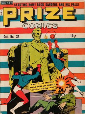 Prize Comics #24. Click for current values.