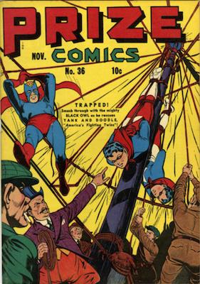 Prize Comics #36. Click for current values.