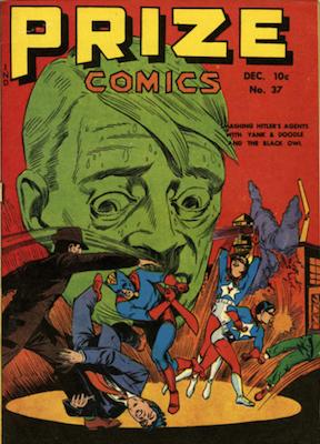 Prize Comics #37. Click for current values.