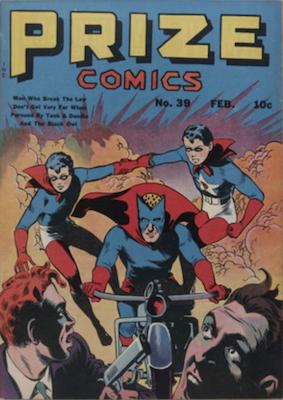 Prize Comics #39. Click for current values.