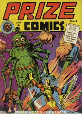 Prize Comics #4. Click for current values.
