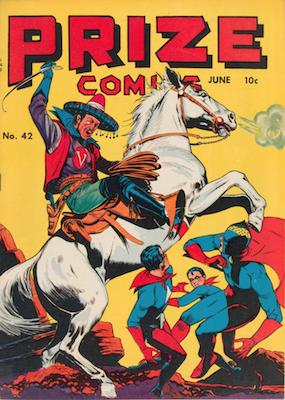 Prize Comics #42. Click for current values.