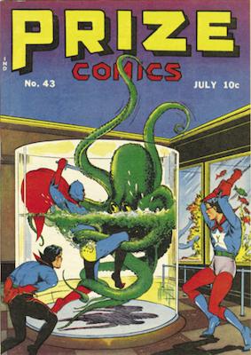 Prize Comics #43. Click for current values.