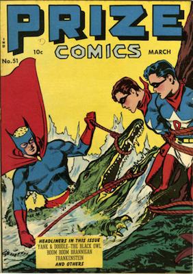 Prize Comics #51. Click for current values.