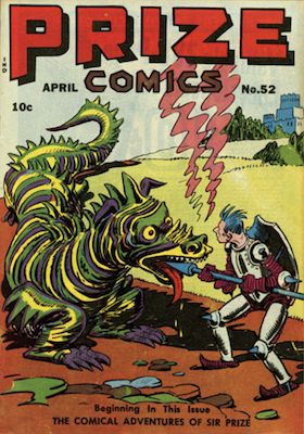 Prize Comics #52. Click for current values.