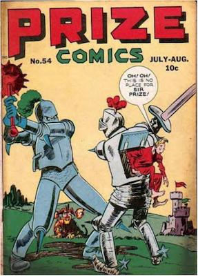 Prize Comics #54. Click for current values.