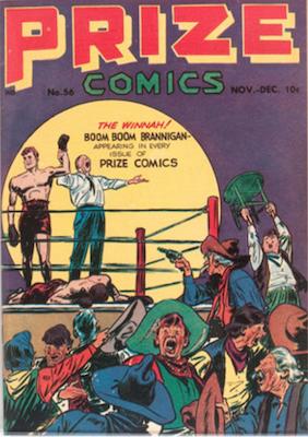 Prize Comics #56. Click for current values.