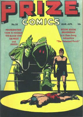Prize Comics #58. Click for current values.