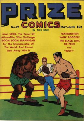 Prize Comics #59. Click for current values.