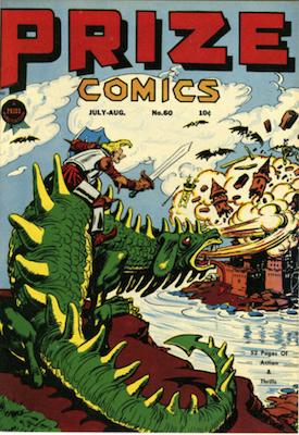 Prize Comics #60. Click for current values.