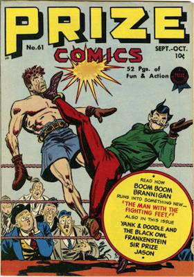 Prize Comics #61. Click for current values.