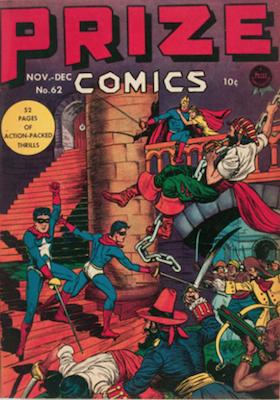 Prize Comics #62. Click for current values.