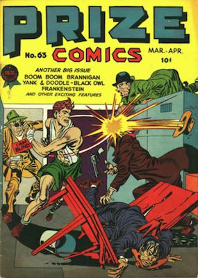 Prize Comics #63. Click for current values.