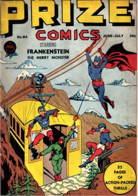 Prize Comics #64. Click for current values.
