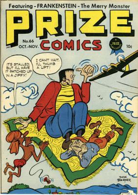 Prize Comics #66. Click for current values.