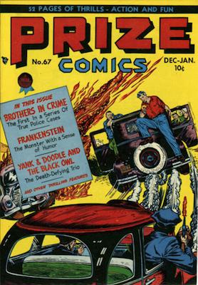Prize Comics #67. Click for current values.