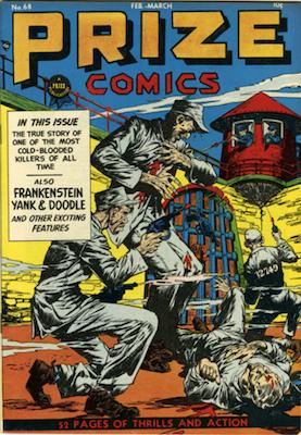 Prize Comics #68. Click for current values.