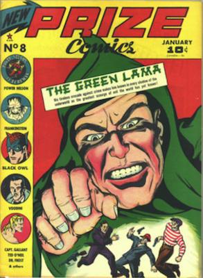 Prize Comics #8. Click for current values.