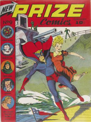 Prize Comics #9. Click for current values.