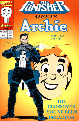 Punisher Meets Archie: Weird Crossover Story. Click for values