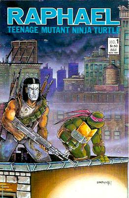 Teenage Mutant Ninja Turtles comic one-shot: Raphael #1 (1987): Mirage Studios. Second Printing. Click for values