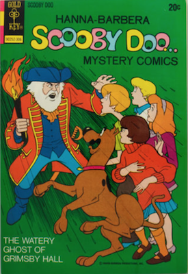 Scooby Doo #18 (1970). Click for values.