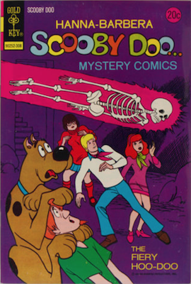 Scooby Doo #20 (1970). Click for values.