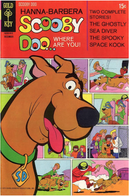 Scooby Doo #4 (1970). Click for values.