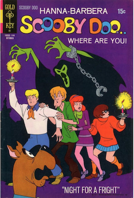 Scooby Doo #8 (1970). Click for values.