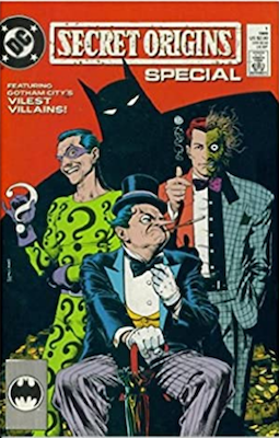 Secret Origins Special #1: Penguin, Two-Face and Riddler cover. Click for values