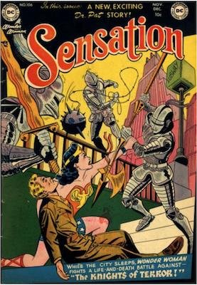 Sensation Comics #106. Click for current values.