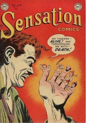 Sensation Comics #109. Click for current values.