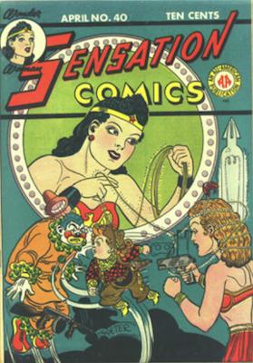 Sensation Comics #40. Click for current values.