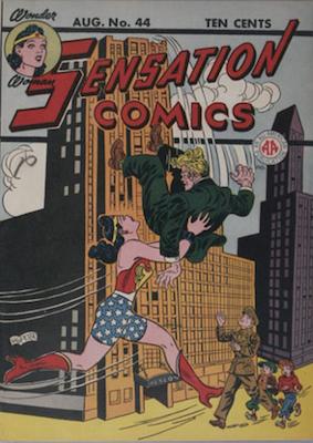 Sensation Comics #44. Click for current values.