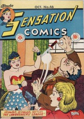 Sensation Comics #46. Click for current values.