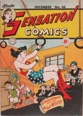 Sensation Comics #48. Click for current values.