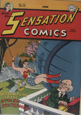 Sensation Comics #54. Click for current values.